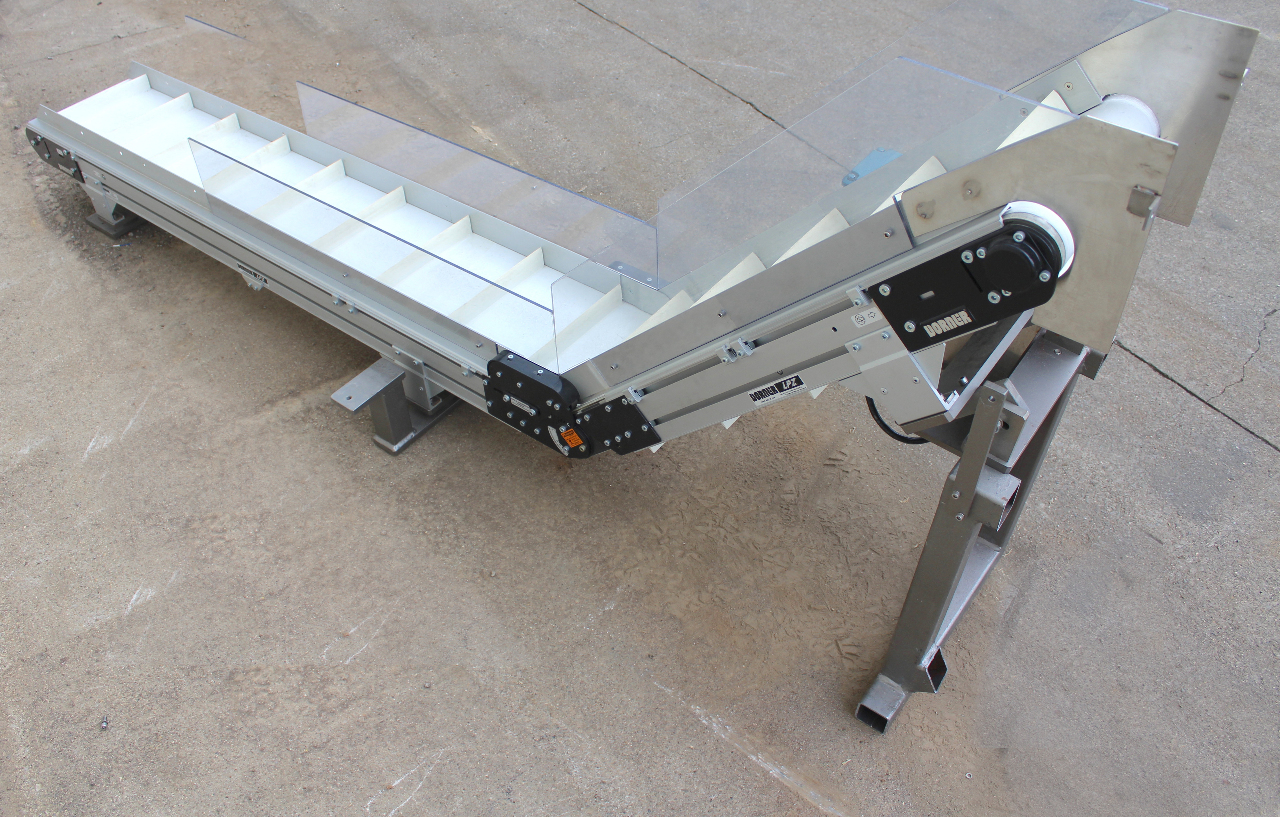 Dorner lpz incline conveyor 10 wide x 8 39 long sew Dorner motor