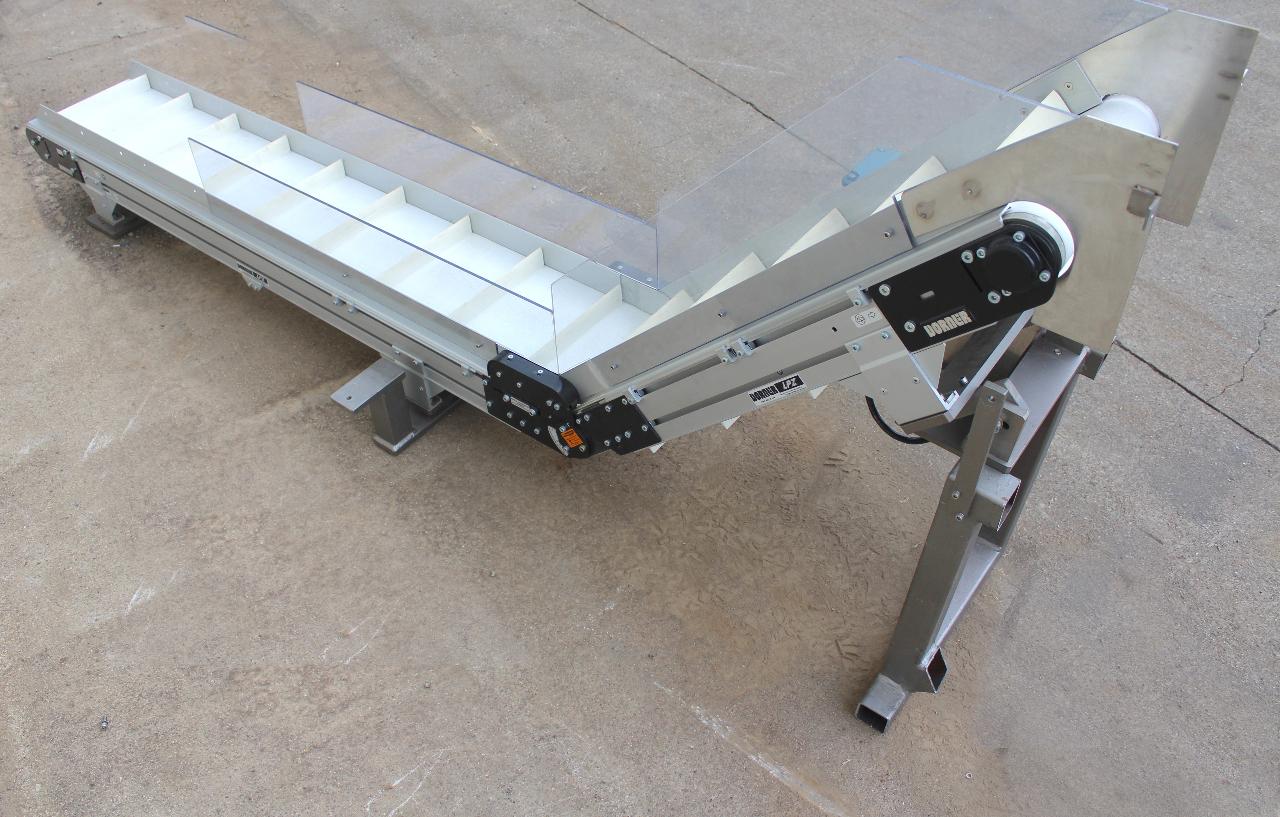 Dorner Lpz Incline Conveyor 10 Wide X 8 39 Long Sew