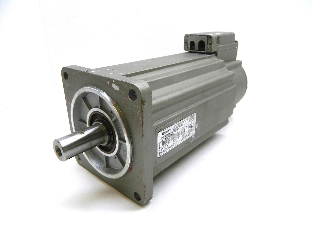 Rexroth Mkd090b 047 Gp0 Kn Servo Motor 600v Ac 3 Phase Mkd