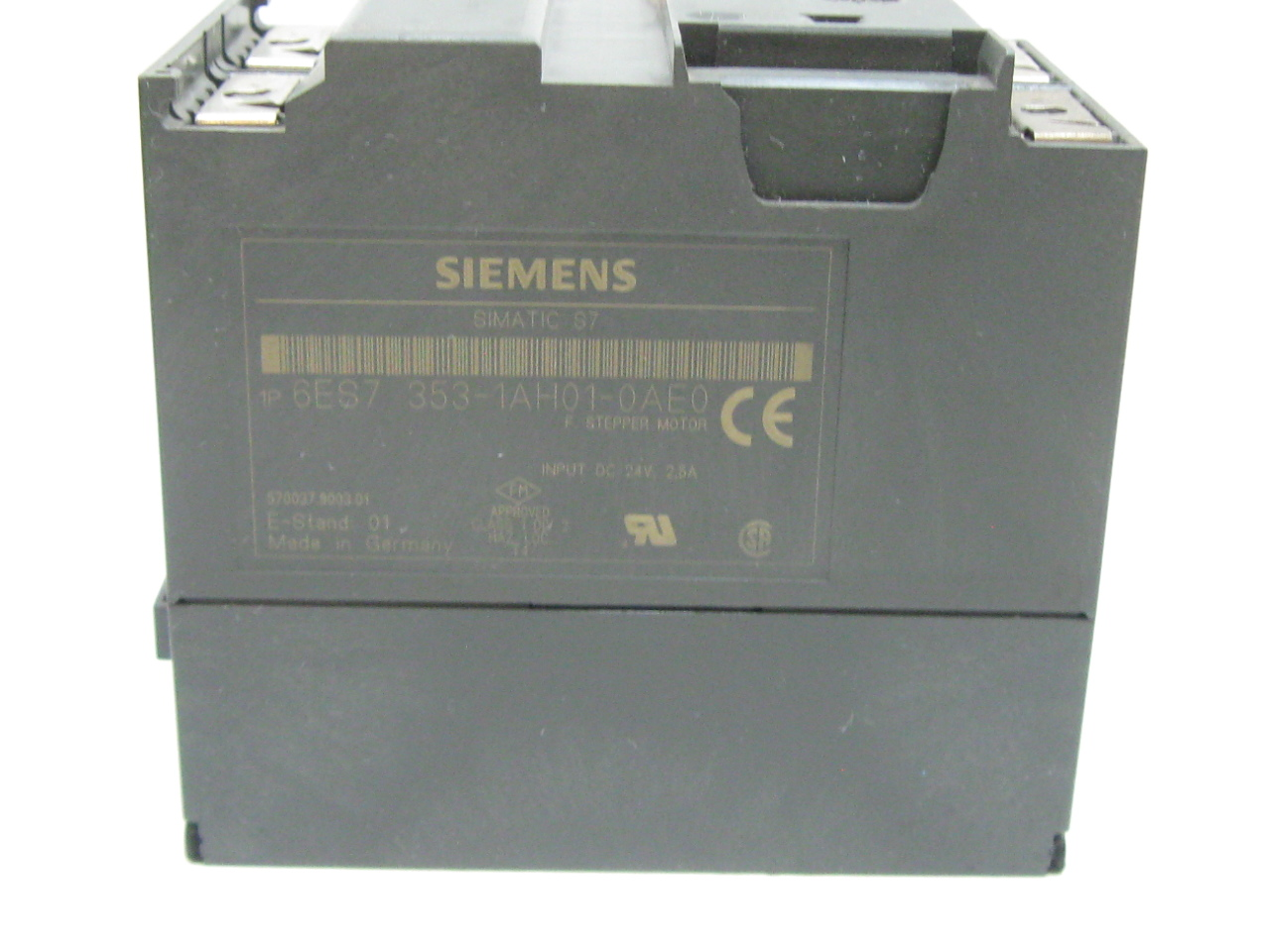 siemens simatic s7 6es7 353 1ah01 0ae0 stepper motor