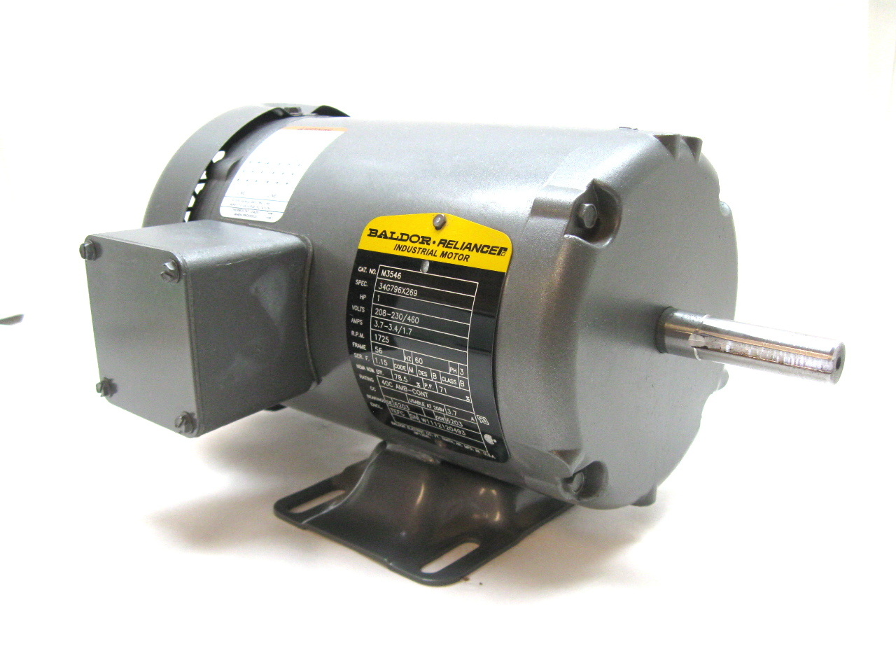 Motor parts baldor motor parts for Baldor electric motor parts