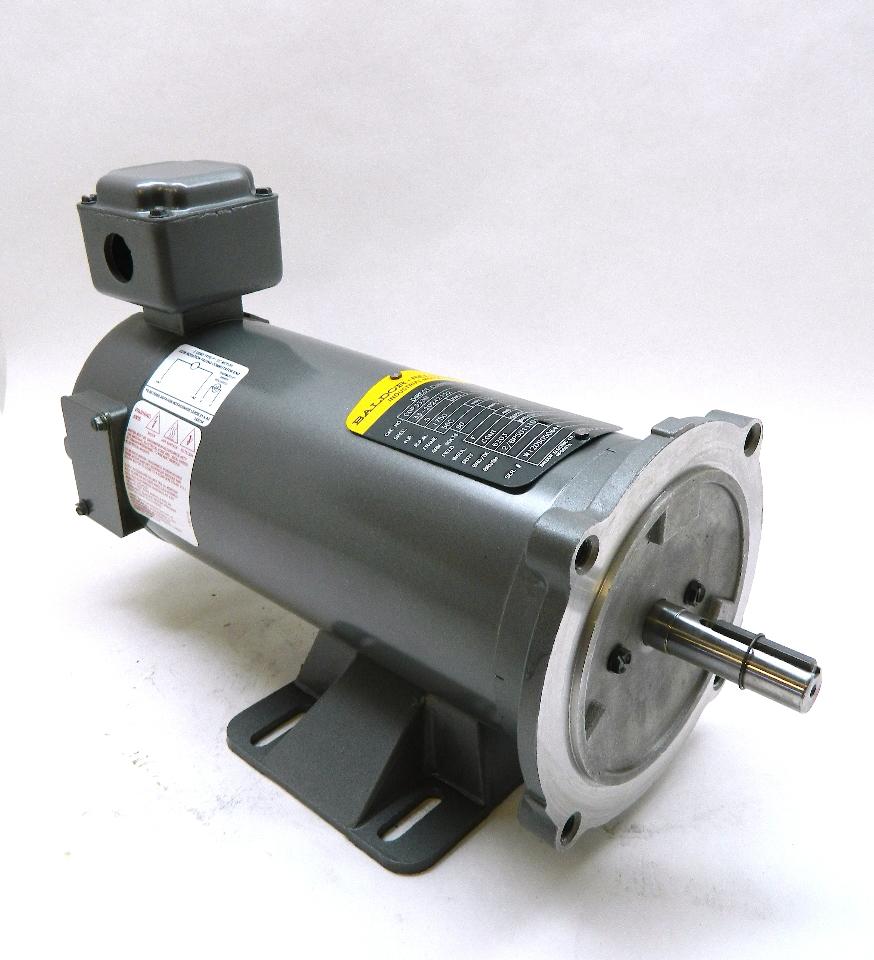 Baldor Cdp3330 Dc Motor 0 5hp 90vdc 1750 Rpm Tenv 4 8 Amp