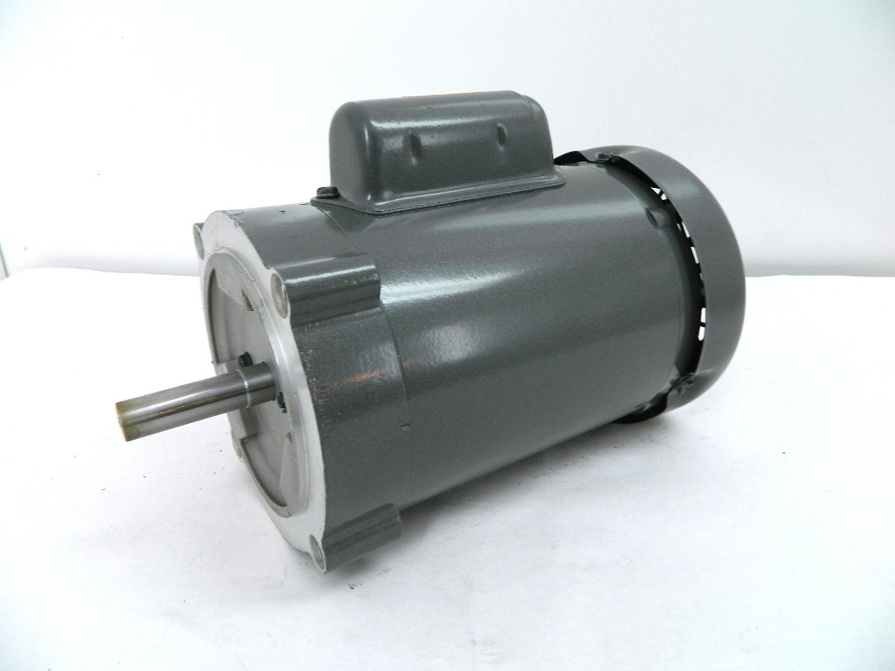 Baldor Kl3403 Electric Motor Hp 56c Frame 1725 Rpm Tefc 115 230vac 1 Ph Ebay