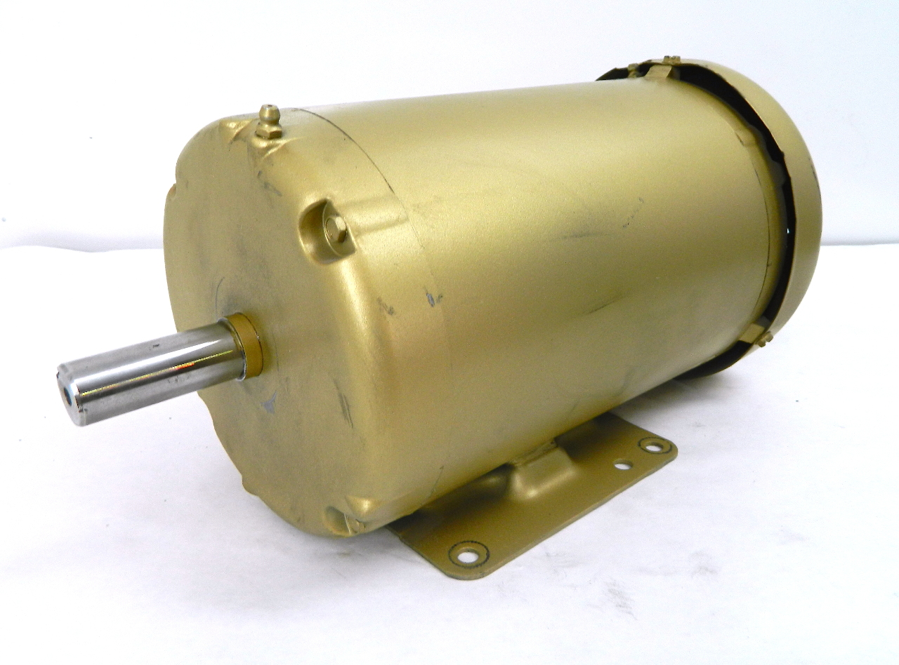 Baldor em3558t electric motor 2hp 1755 rpm 208 230 460vac for Baldor electric motor parts
