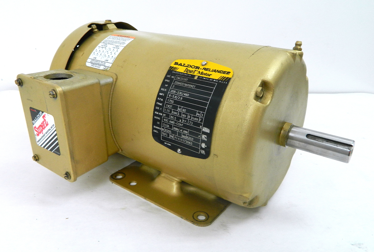 Electric Motor  Baldor Electric Motor Parts
