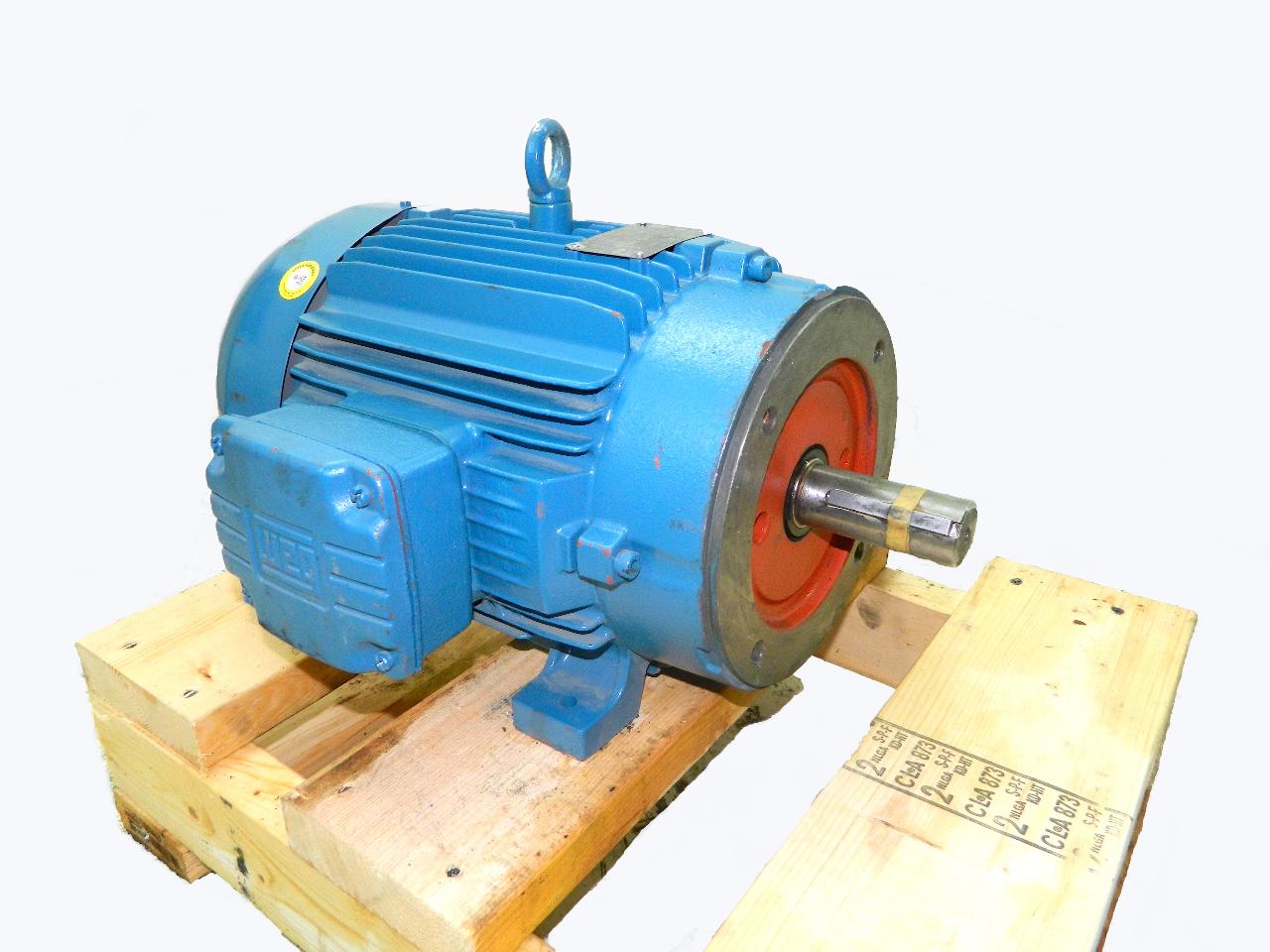 Weg 10 Hp Electric Motor 3500 Rpm 208 460vac 3 Phase 215tc