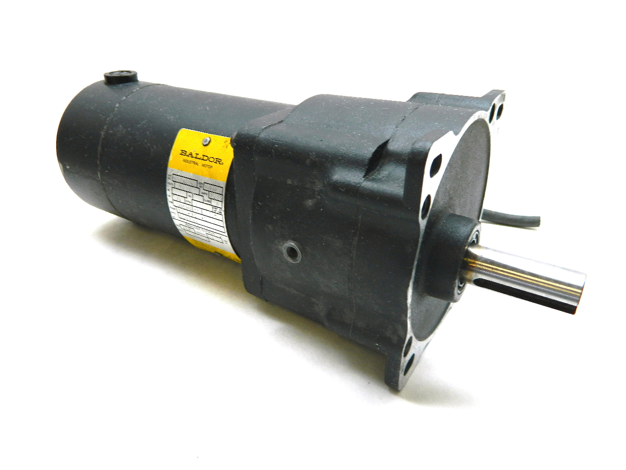 baldor gpp12543 dc parallel shaft gear motor 90 vdc 125