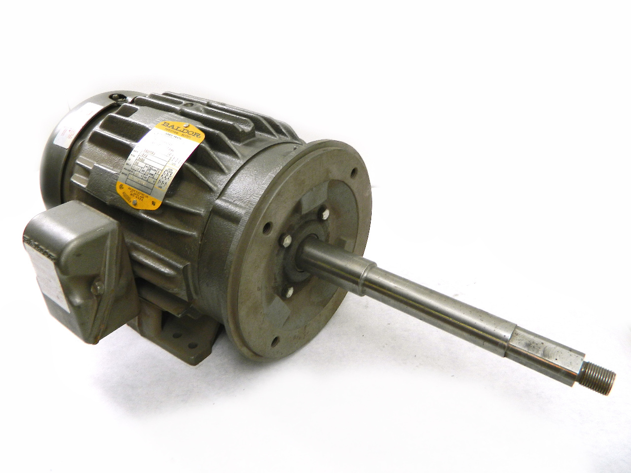 Baldor 5hp Electric Motor 3450 Rpm 184tcz Frame Te 208
