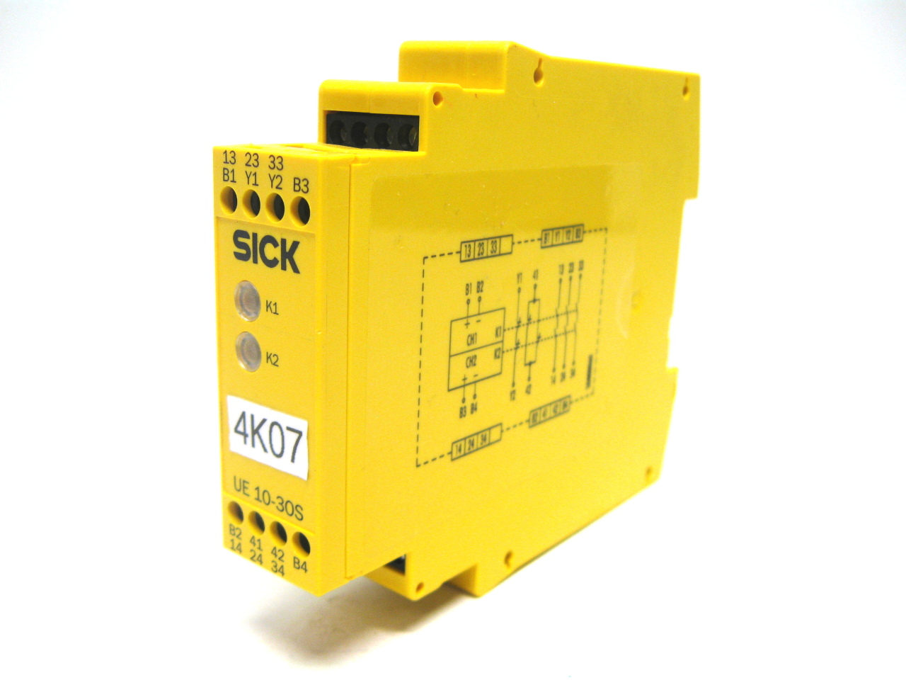 sick ue10 3os2d0 safety relay 24 vdc 6024917 ebay