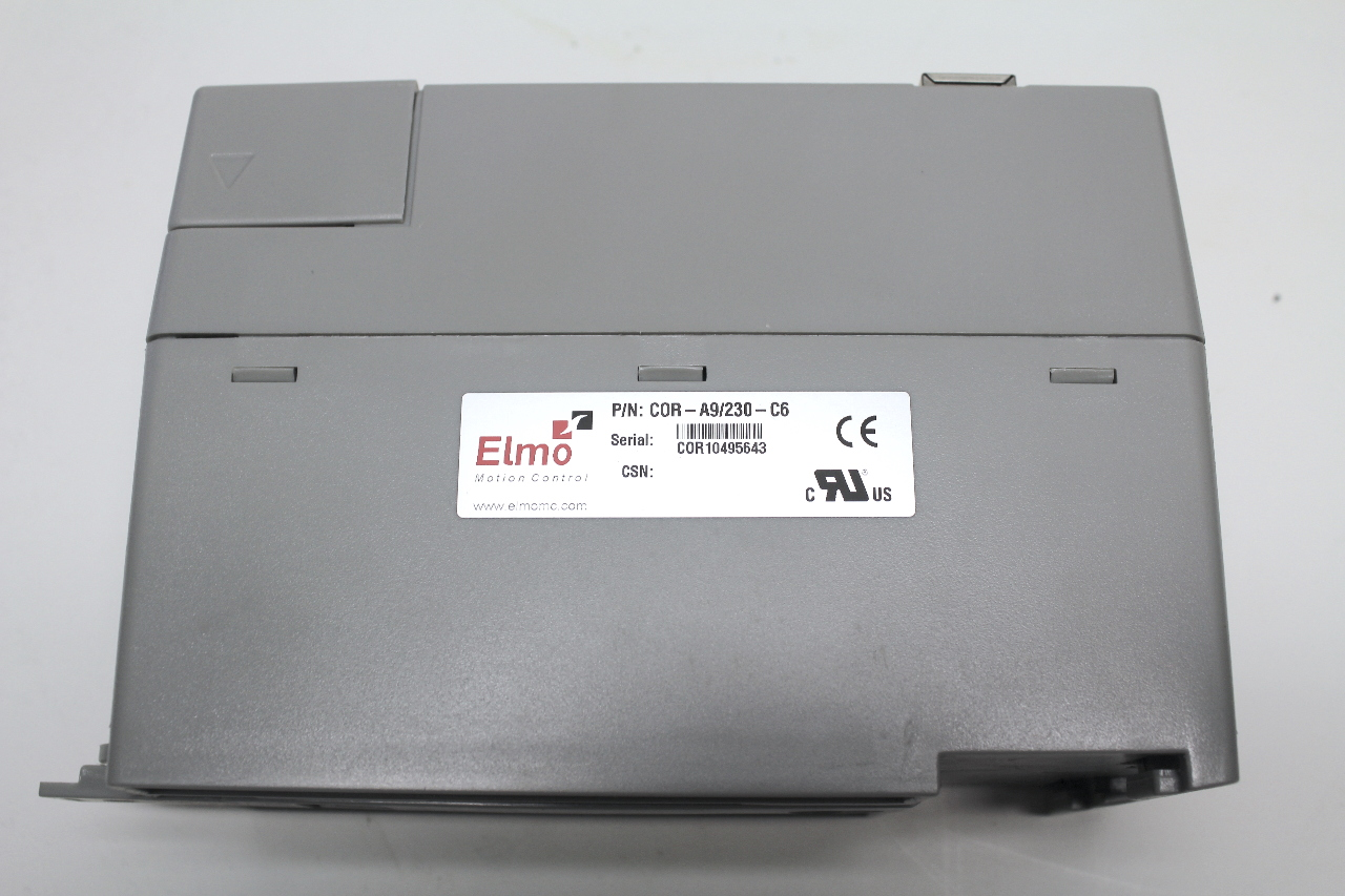 Elmo motion control cornet servo drive 2700w 230vac 9 amp cont cor a9 230 c6 ebay Elmo motor controller