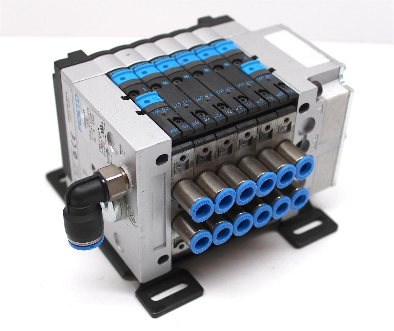 Festo cpv ge mp pneumatic manifold valve terminal