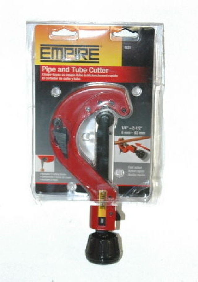 Empire Pipe and Tube Cutter #2831 Fast-Action Trigger