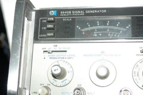 Hp Signal Generator : Hp b signal generator used ebay
