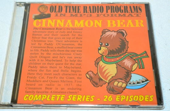 CINNAMON BEAR (26 SHOWS) OTR MP3 CD