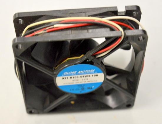 Globe Motors D31 B10b 04w3 100 12v Dc Fan