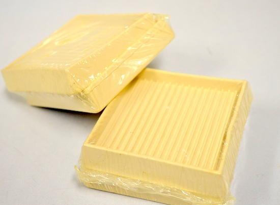 Shepherd 89168 3 Square Rubber Furniture Cups 2 2packs 4 Pcs Off White Color Surplus