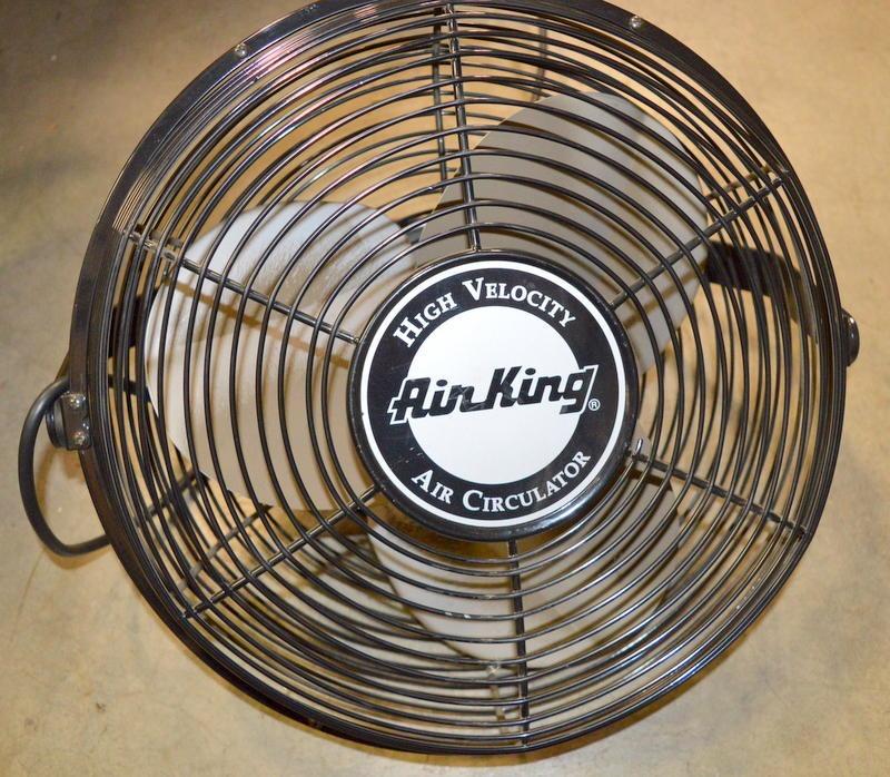 High Velocity Air Circulator : Air king high velocity circulator speed modle