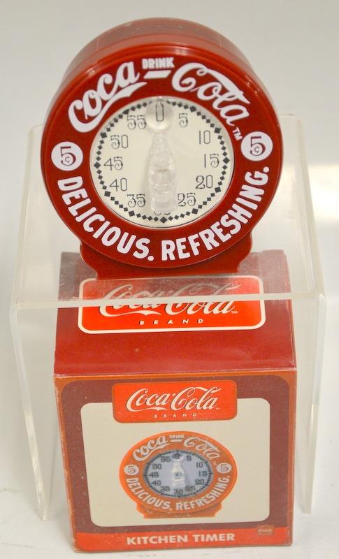 Coca Cola Kitchen Timer   New In Box.