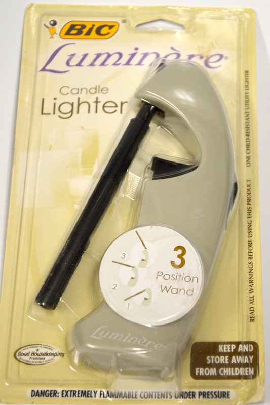 Bic Luminere Candle Lighter   3 Position Wand   Beige ...