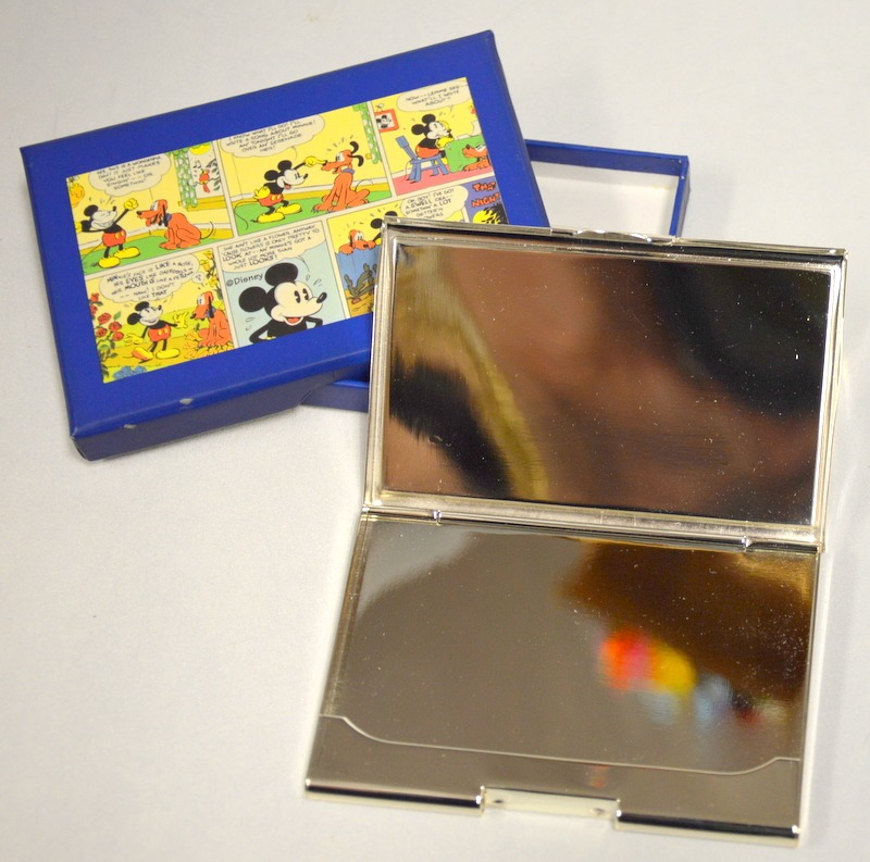 Mickey Mouse cartoons - business card holder - New | Surplus Trading ...