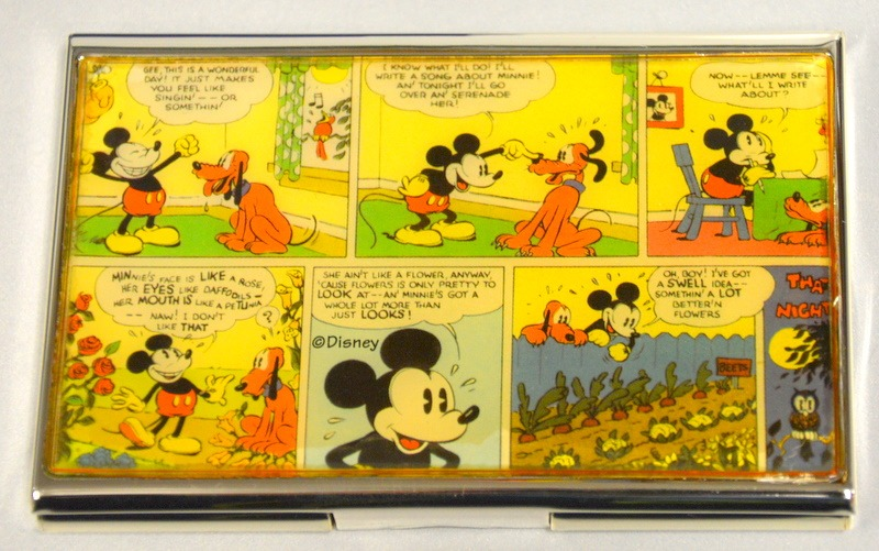 Mickey mouse cartoons business card holder new surplus trading mickey mouse cartoons business card holder new colourmoves