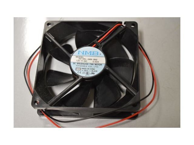 NMB Model 3610KL-04W-B50 12VDC Brushless Fan, 0.43A - no box.