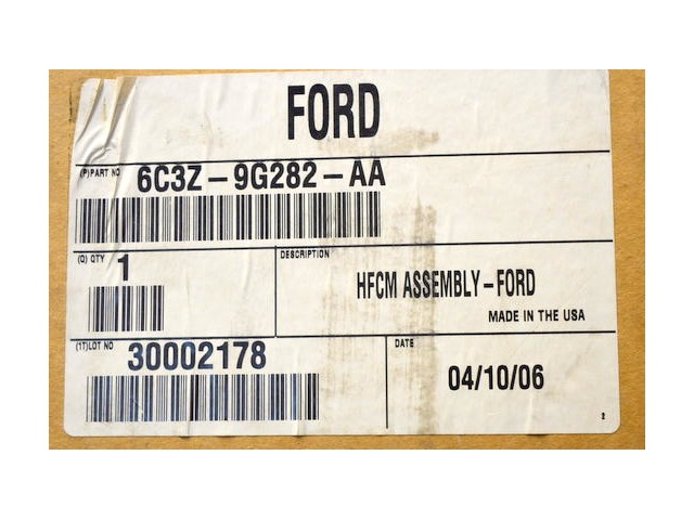 Ford Genuine Parts #6C3Z-9G282-AA,Super Duty Fuel Pump.