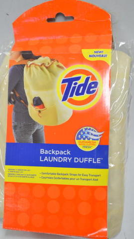 """Tide Breathable Comfortable Duramesh Backpack Laundry Duffle16""""Topx14""""Diax24""""H"""