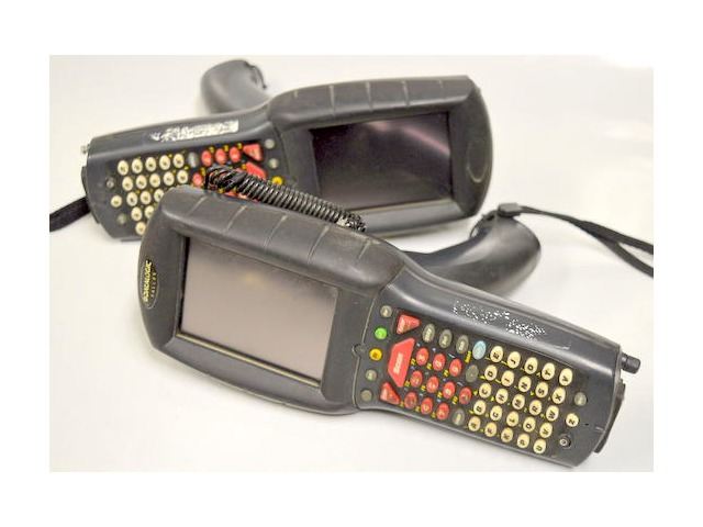 DataLogic Falcon #4420 PSC Handheld Barcode Scanner - 2 pc. -Unable to test