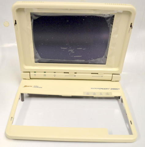Vintage - Zenith Data Systems SuperSport 286e Screen w/housing.