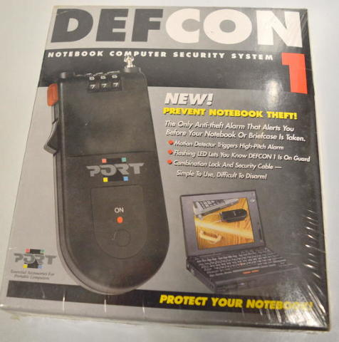 Port - Defcon1 - Notebook Computer Security System #SEL0400