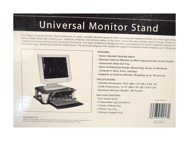 Targus Universal Monitor Stand #PA235U