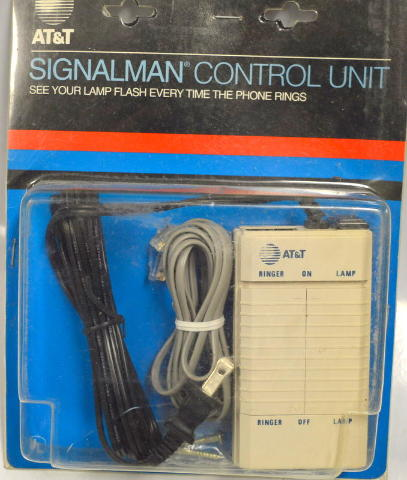 AT&T Signalman Control Unit -Hook to a lamp, when the phone rings its lights up.