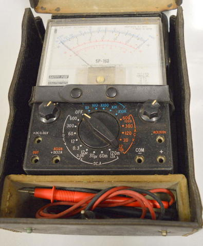 A.W. SPERRY INSTRUMENTS INC. SP-160 VOLT-OHM-MILLIAMMETER SP160