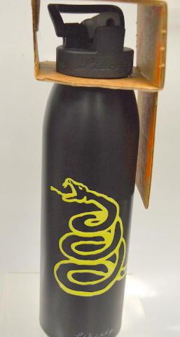 "Liberty Bottleworks Gadsden Alluminum Water Bottle-24 oz.w sports cap ""Night"""