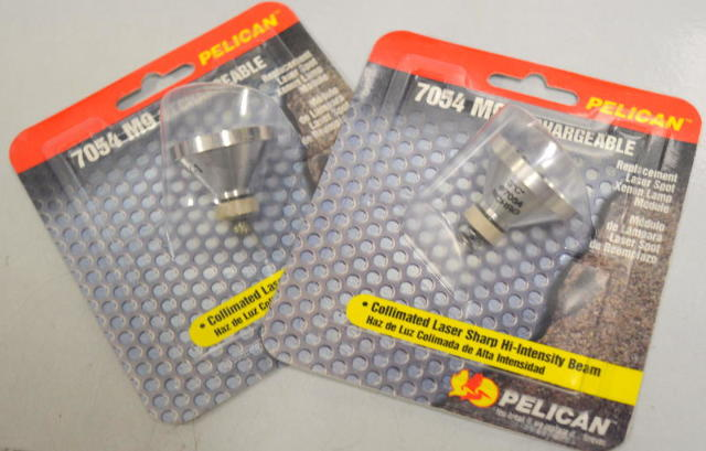 Pelican #7054-M9 Replacement Laser Spot Xenon Lamp Module - 2 Pcs.