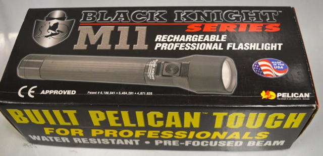 Pelican #M11 Rechargeable Professional Flashlight-pre-focused beam