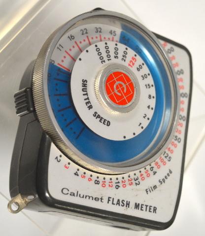 Calumet Flash Light Meter M-100 - Vintage- no cord
