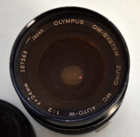 Olympus OM-System, Zuiko, Auto-W, MC,1:2, f=24mm Ser #107569