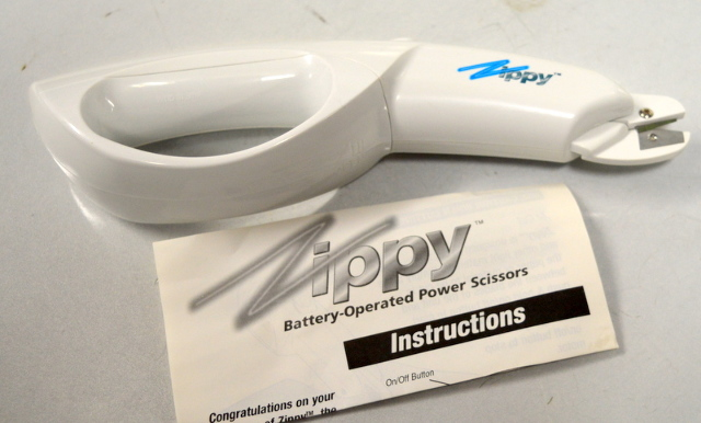 Zippy Battery Operated Scissors - As seen on TV.