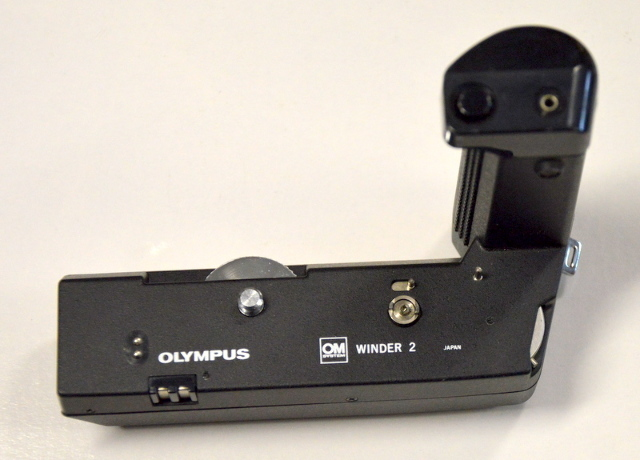 Olympus Winder 2 Motor Drive for OM System 35mm SLR Camera
