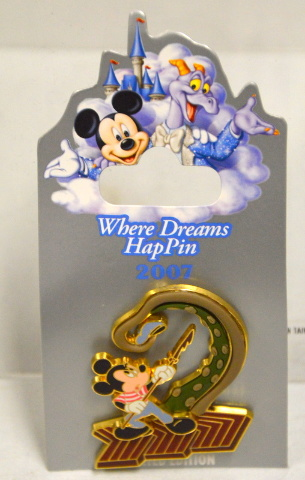Disney  Where Dreams HapPin Ned Mouse 20,000 Leagues Under the Sea LE pin.