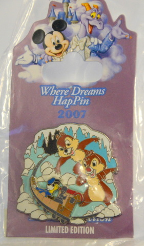 Disney Where Dreams HapPen  - Chip and Dale LE 750 - On an Expedition Everest