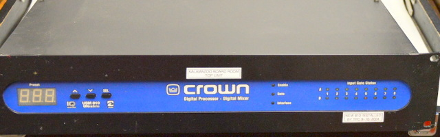 Crown USM 810 Digital Processor and Mixer