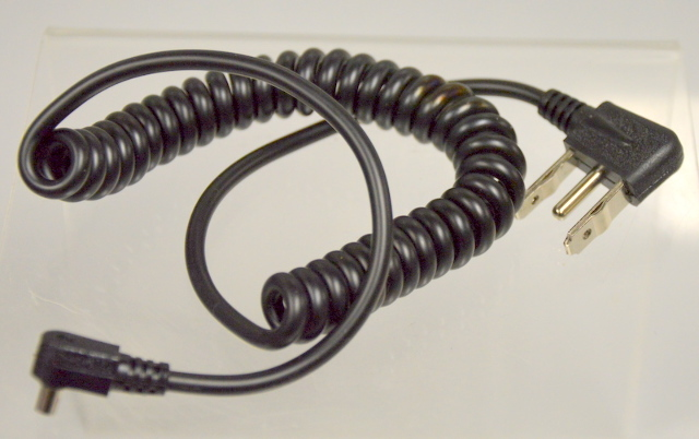Sunpak Synchro Cord for 511 with 6' coiled cord