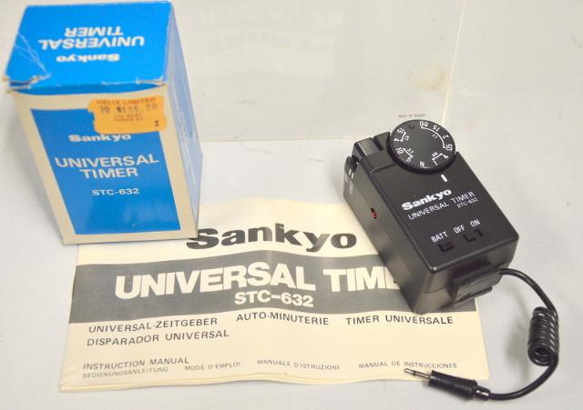 Sankyo Universal Timer STC-632 w/Manual