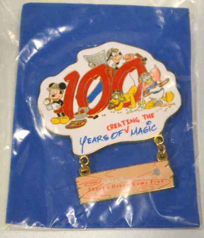 Disney Pin 2002 WDW 100 Years of Creating the Magic-Cast Member