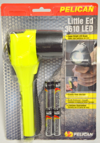 Pelican Little Ed 3610 LED Flashlight - Super Bright LED Beam