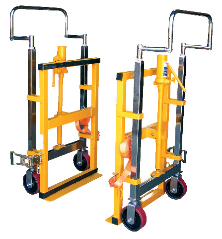 Dolly Hand Operated Hydraulic Furniture & Equipment Moving Pair 3950 Lb Capacity