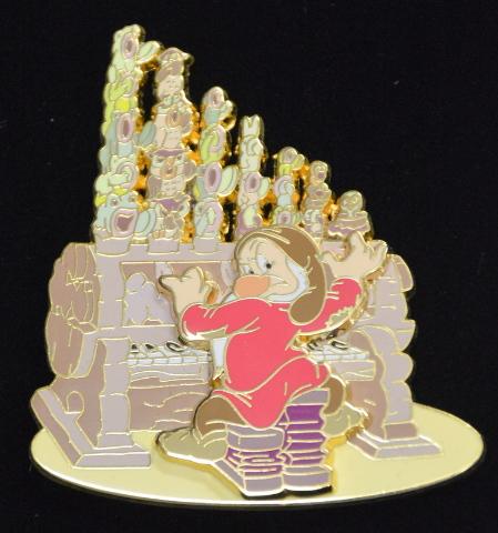 Disney Auctions Grumpy Playing Woodland Pipe Organ LE500 #00938